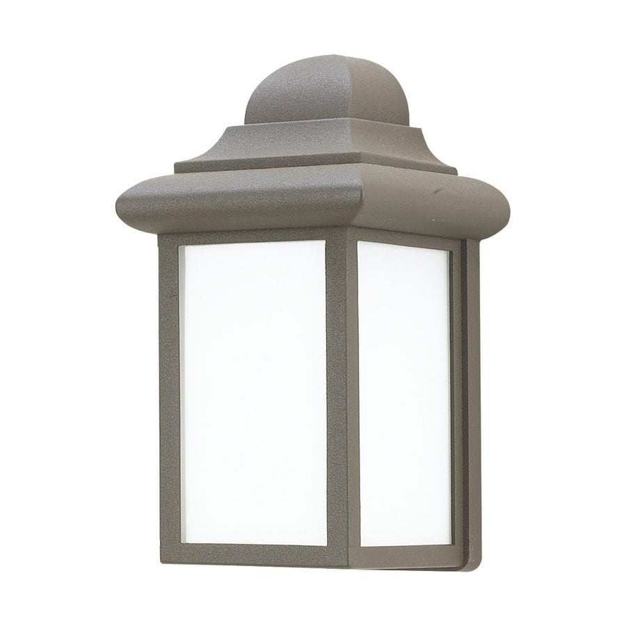Sea Gull Lighting Mullberry Hill 8.75-in H Bronze Outdoor Wall Light ENERGY STAR