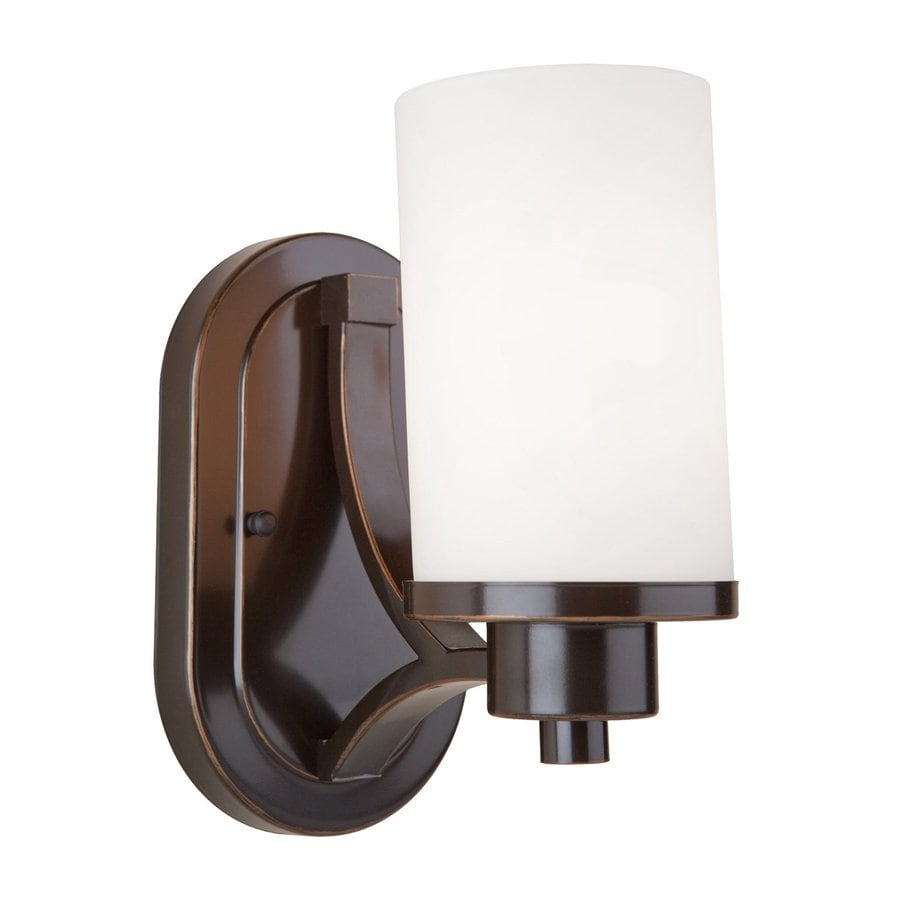 Artcraft Lighting Parkdale 6-in W 1-Light Oil Rubbed Bronze Arm Wall Sconce