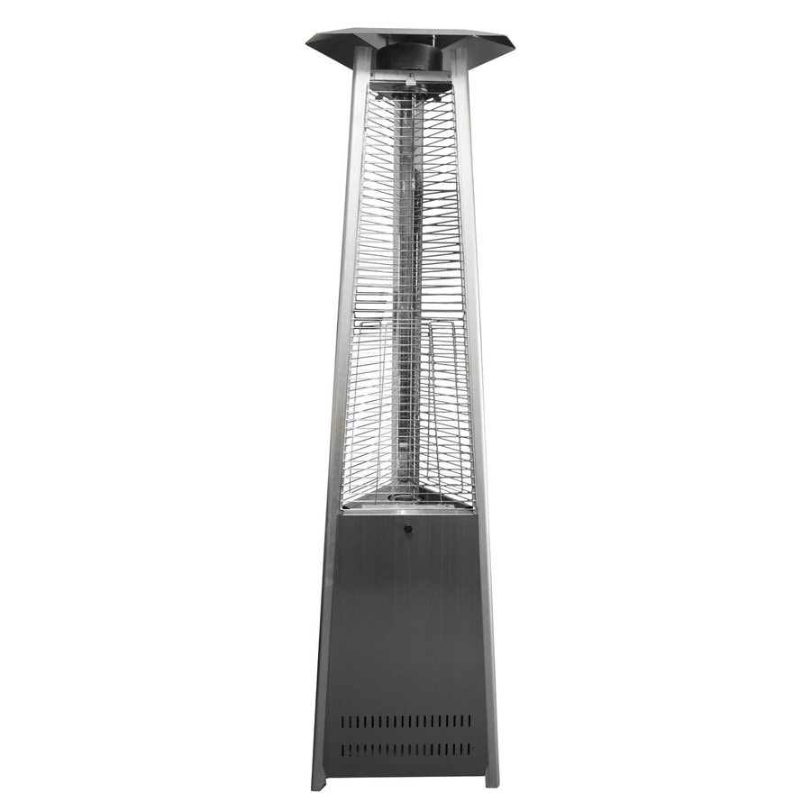 AZ  Patio 38000-BTU Stainless Steel Floorstanding Liquid Propane Patio Heater