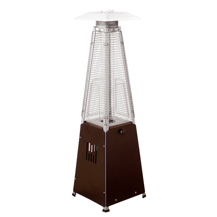 AZ  Patio 9500-BTU Hammered Bronze Steel Tabletop Liquid Propane Patio Heater