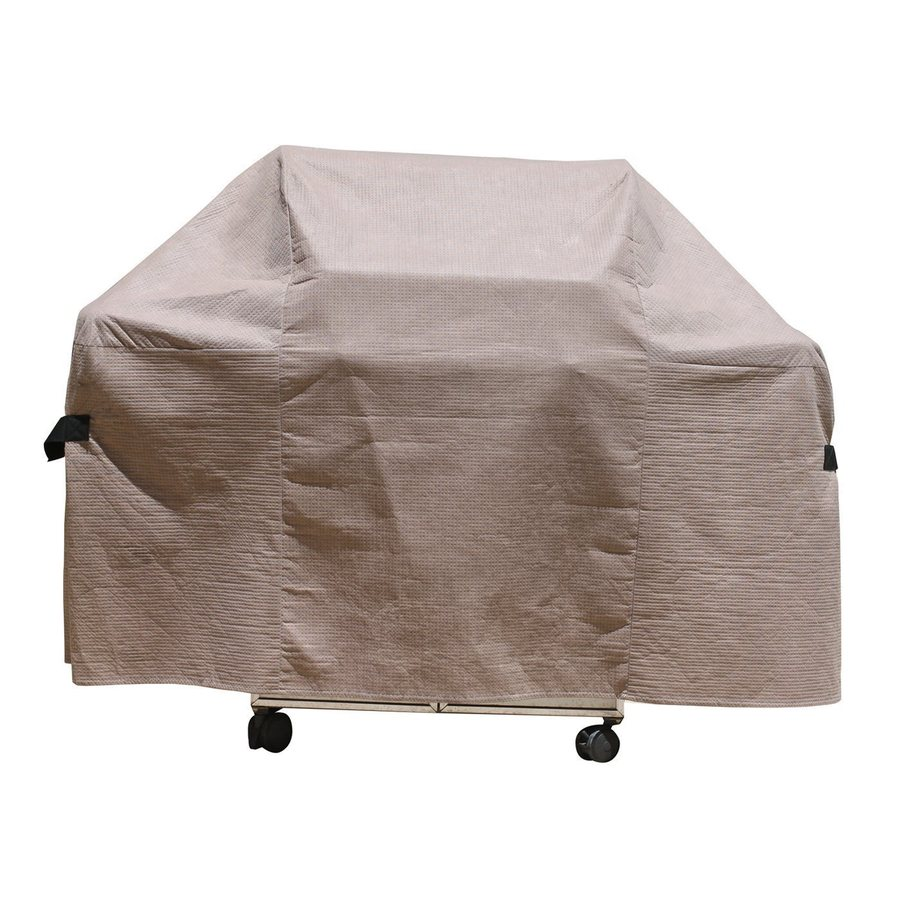Duck Covers Cappuccino Polypropylene 53-in Grill Cover