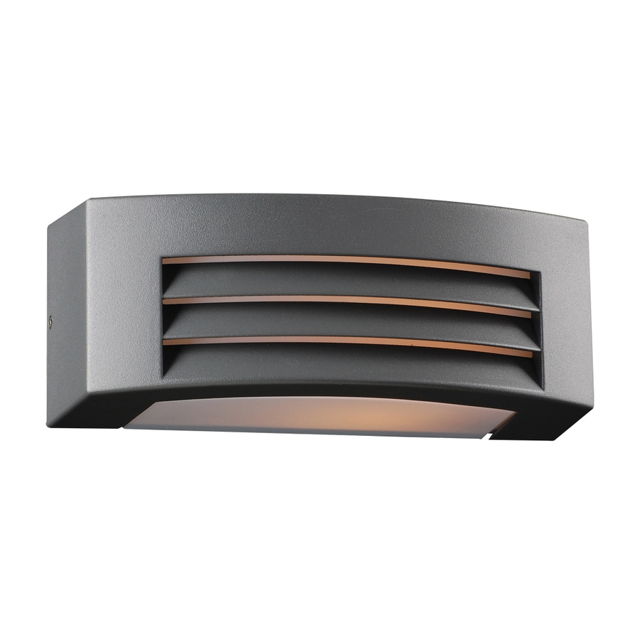 PLC Lighting Luciano 4.25-in H Bronze Outdoor Wall Light