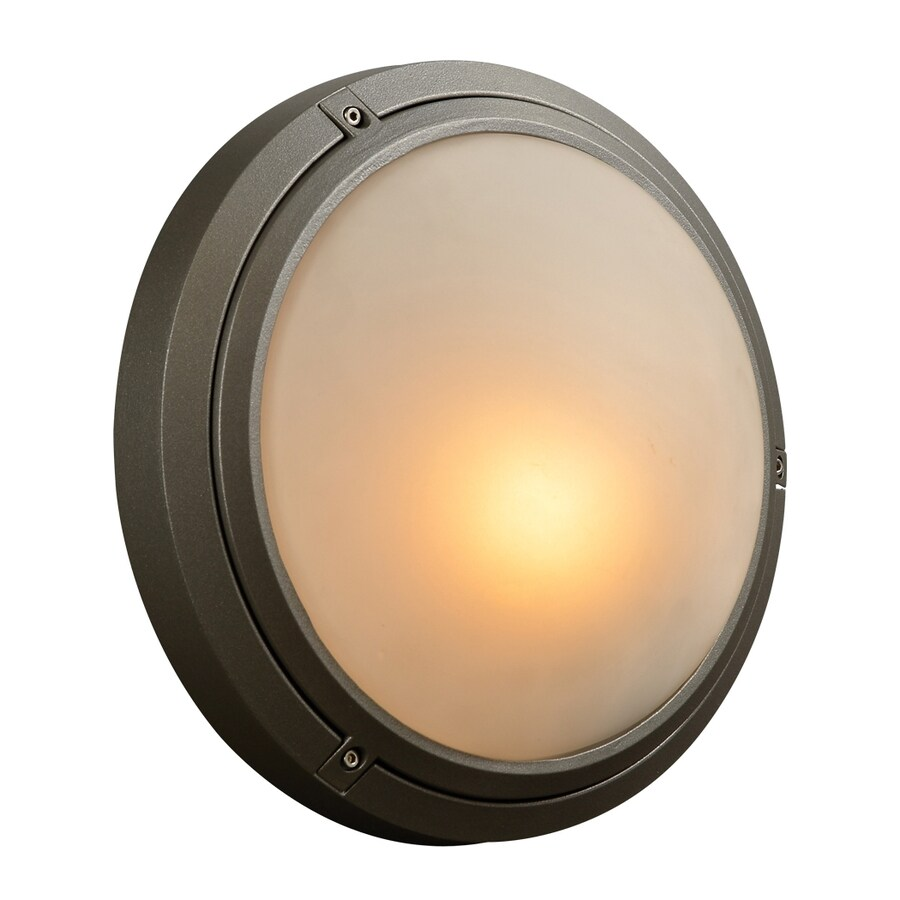PLC Lighting Ricci-I 12-in H Bronze Outdoor Wall Light