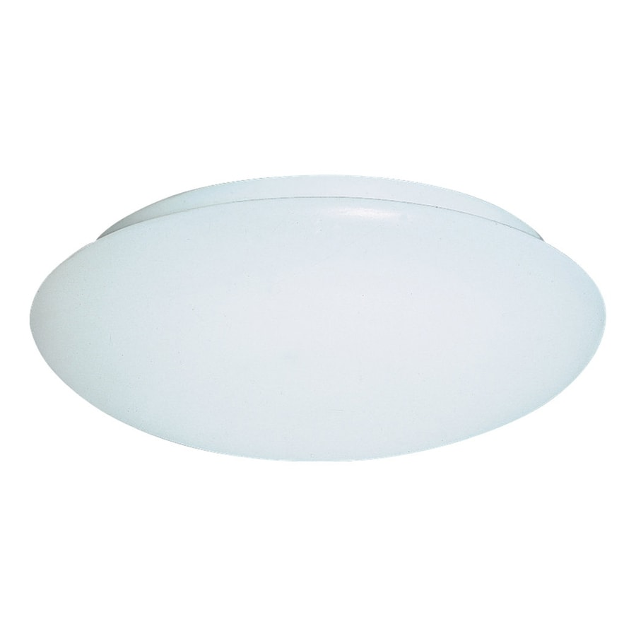 Sea Gull Lighting Holly White Ceiling Fluorescent Light ENERGY STAR (Actual: 1-ft 0-in)