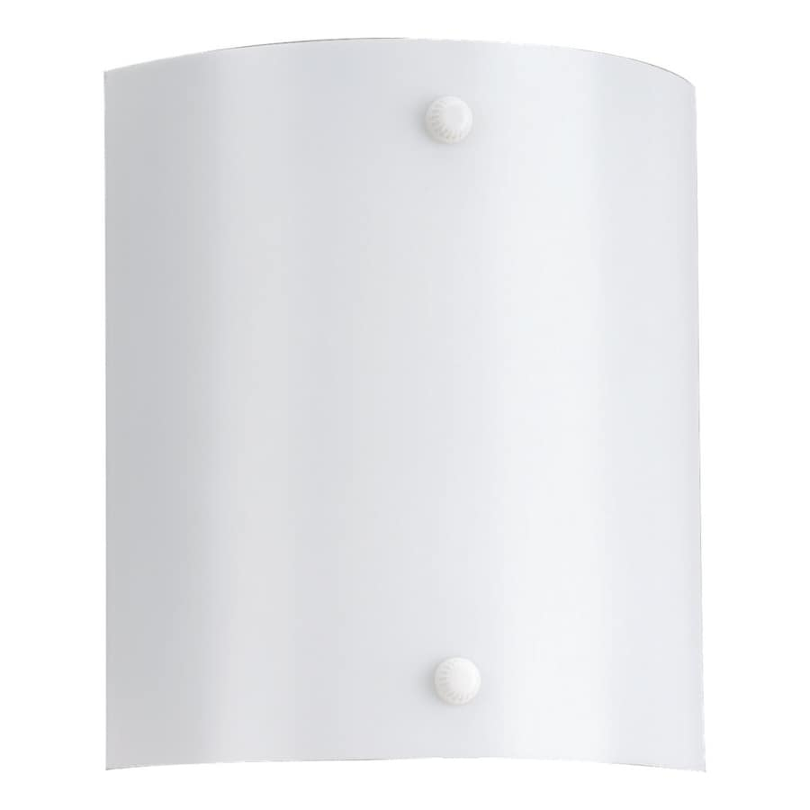 Sea Gull Lighting 1-Light White Vanity Light