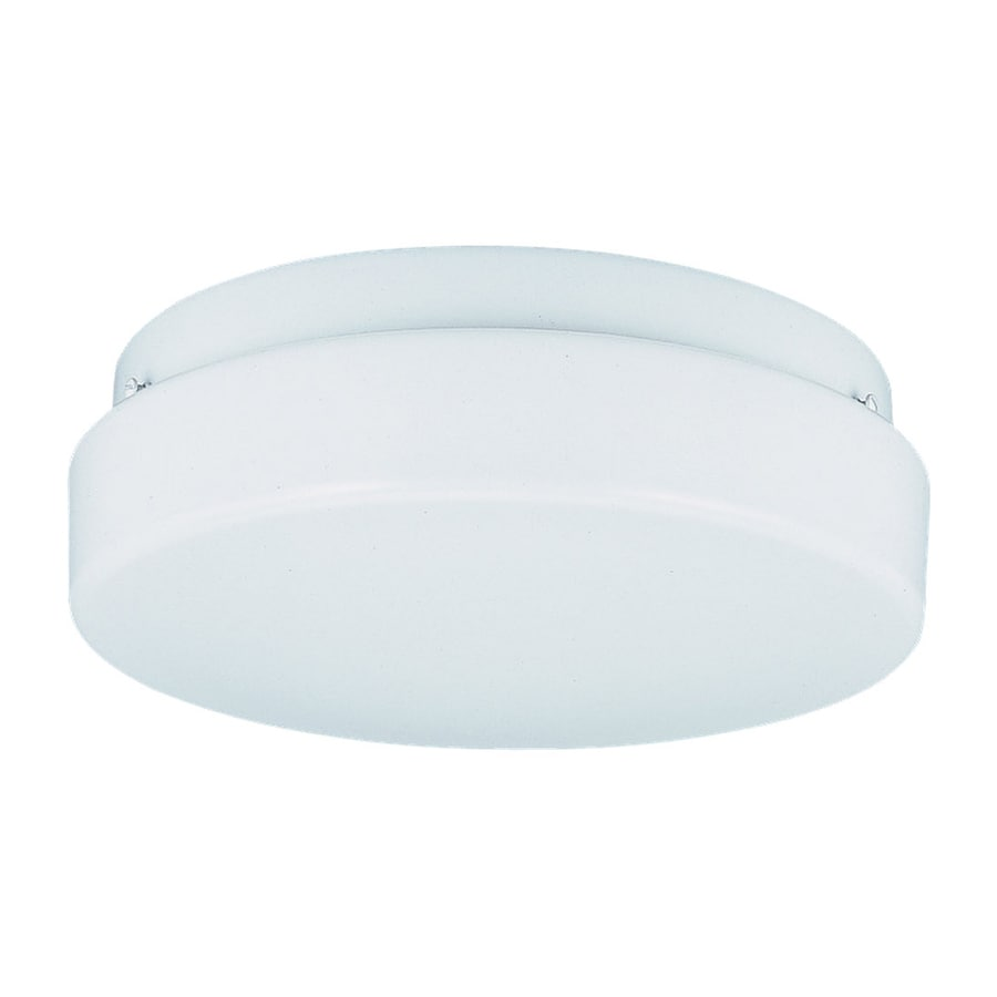 Sea Gull Lighting Haylee White Ceiling Fluorescent Light ENERGY STAR (Actual: 0-ft 11-in)
