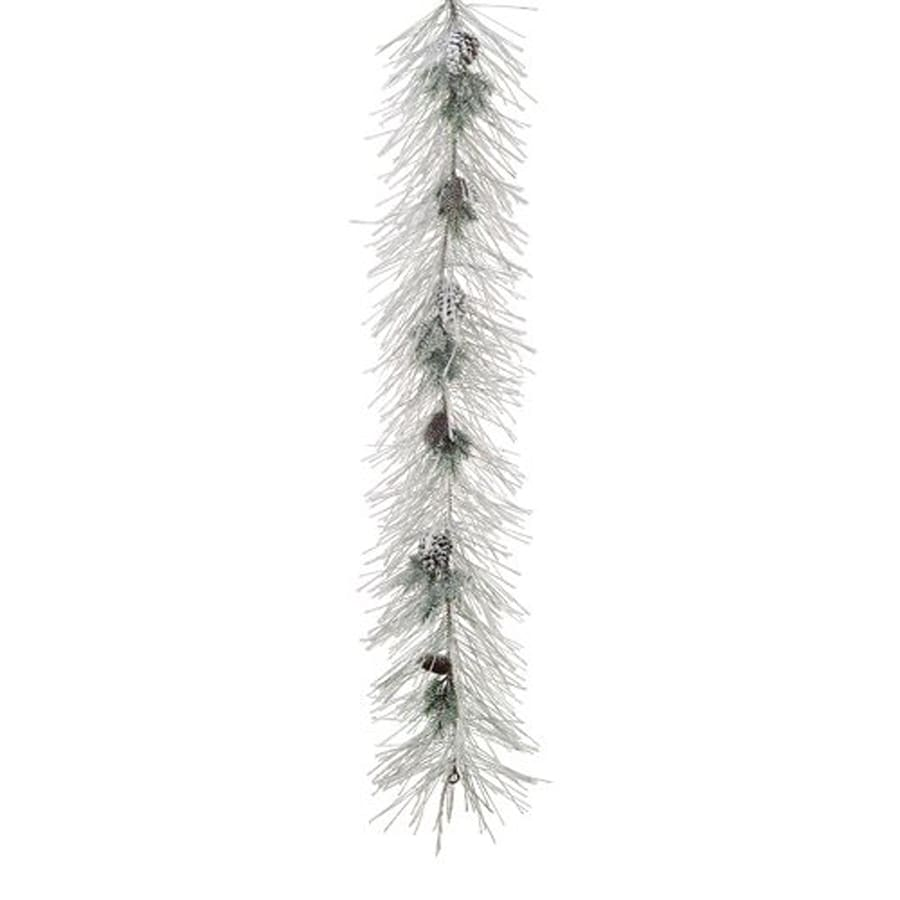 Northlight Allstate 9-ft L Flocked Long Needle Pine Garland