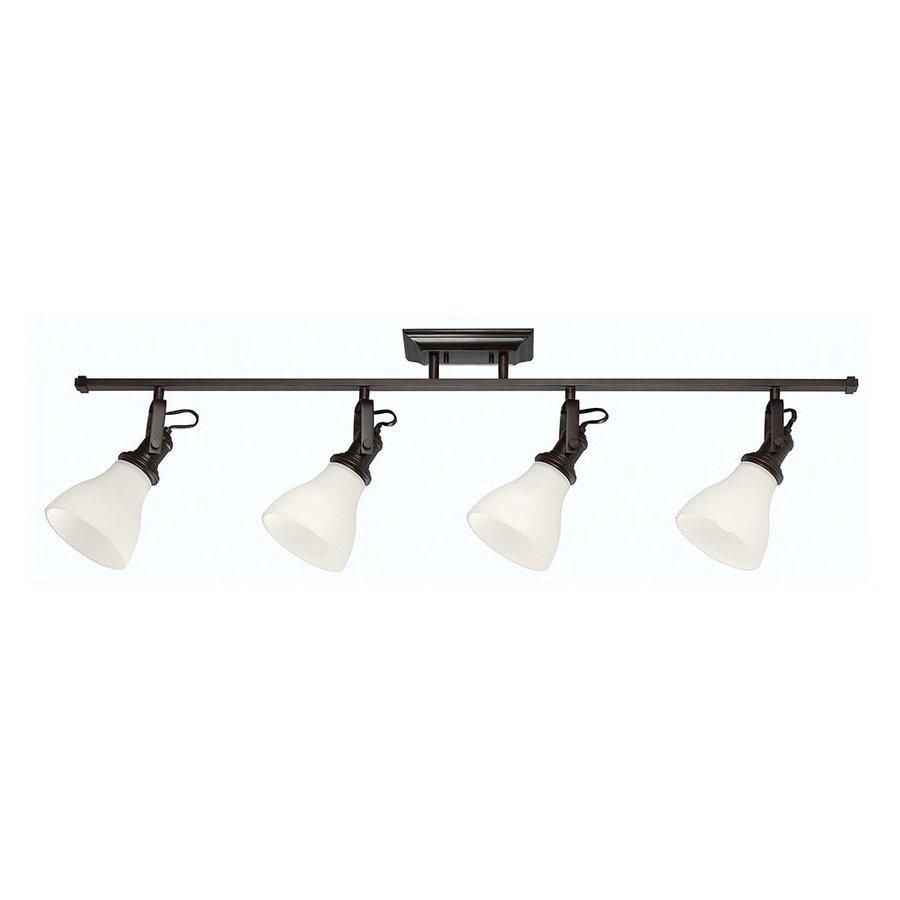 Sea Gull Lighting 4-Light 48-in Burnt Sienna Fixed Track Light Kit