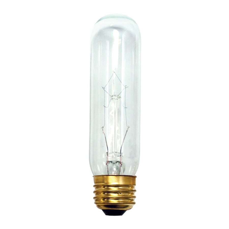 Shop Cascadia Lighting 20 Pack 25 Watt T10 Medium Base E 26 Dimmable Outdoor Incandescent