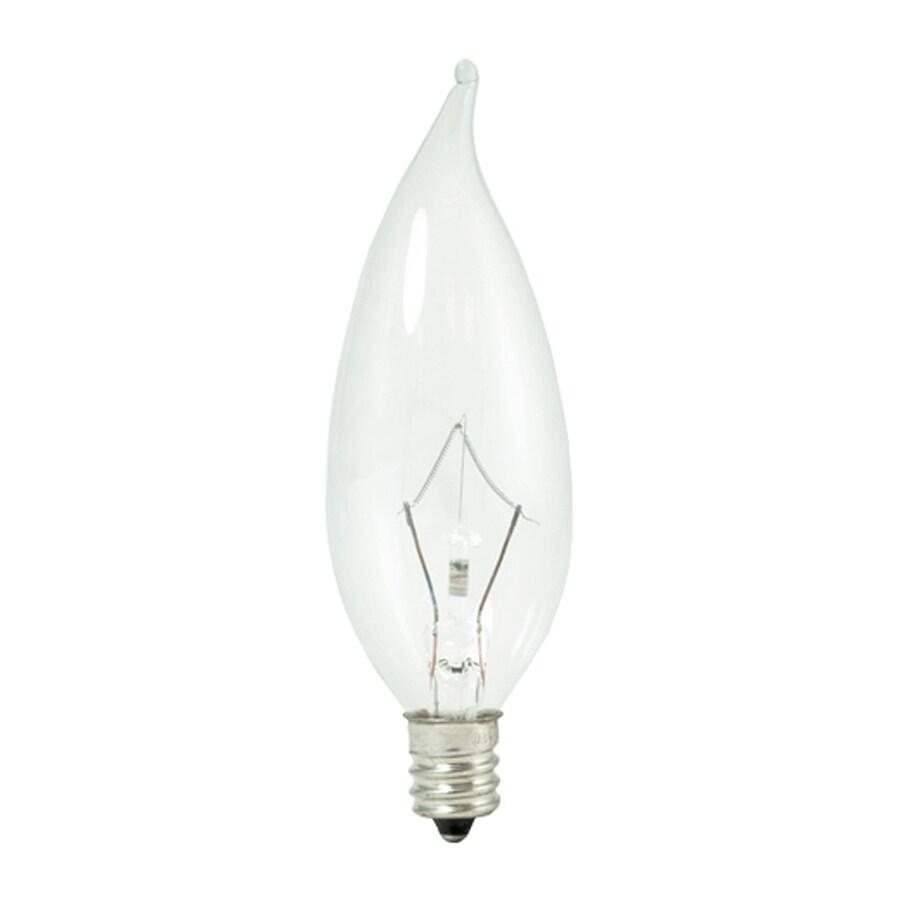 Cascadia Lighting Krystal Touch 15-Pack 25 Watt Dimmable Warm White CA10 Halogen Light Fixture Light Bulb