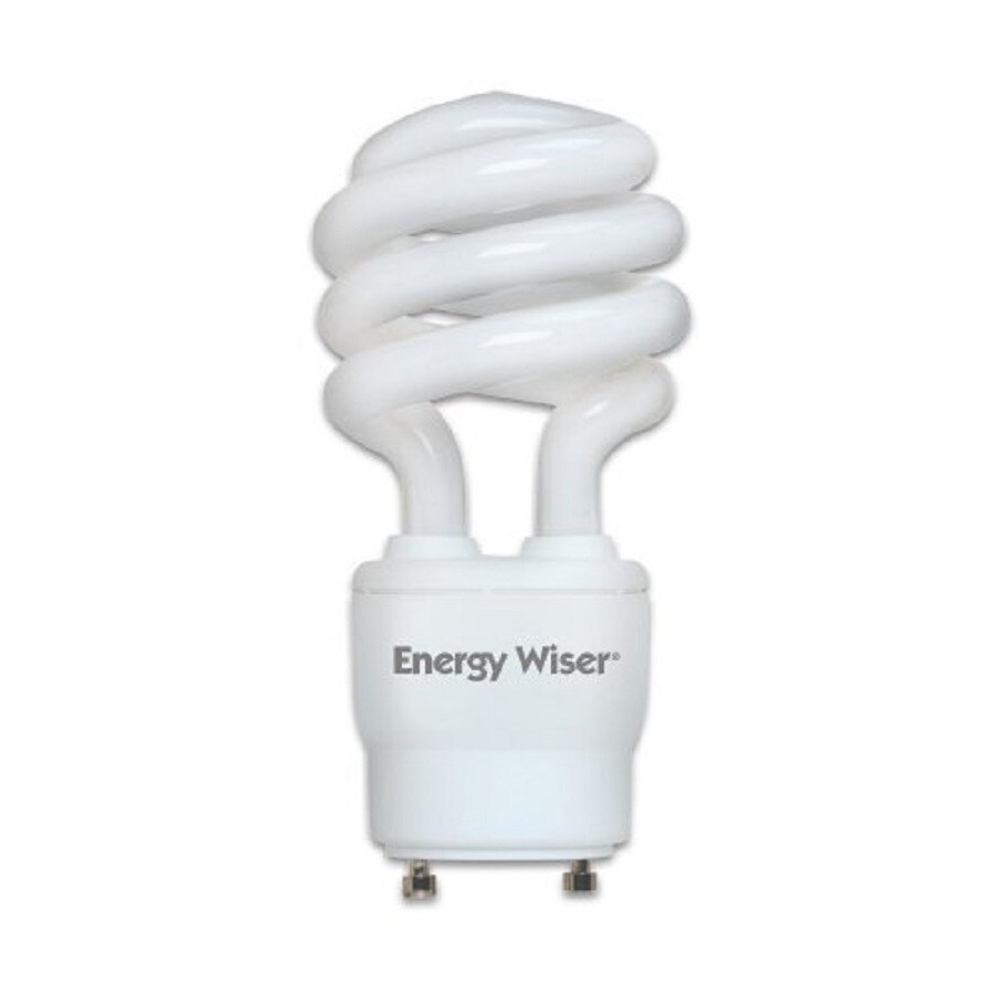Cascadia Lighting Energy Wiser 2-Pack 60 W Equivalent Dimmable Warm White Spiral CFL Light Fixture Light Bulb