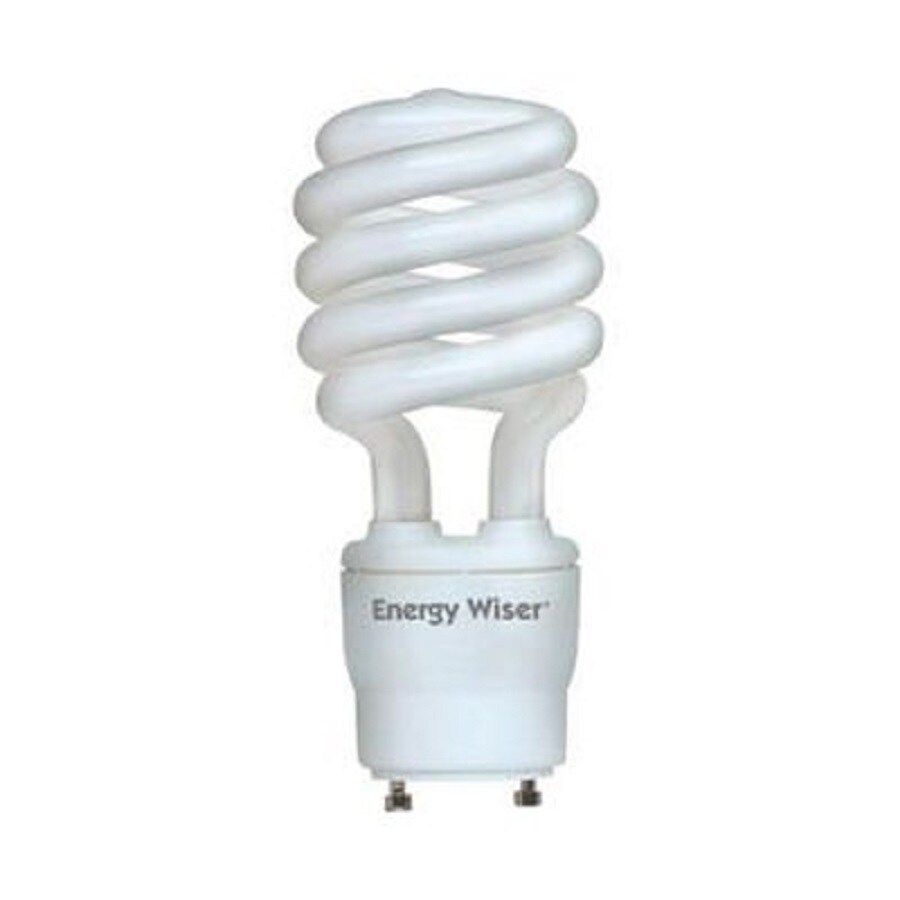 Shop Cascadia Lighting Energy Wiser 2 Pack 60 W Equivalent Dimmable Warm White Spiral Cfl Light