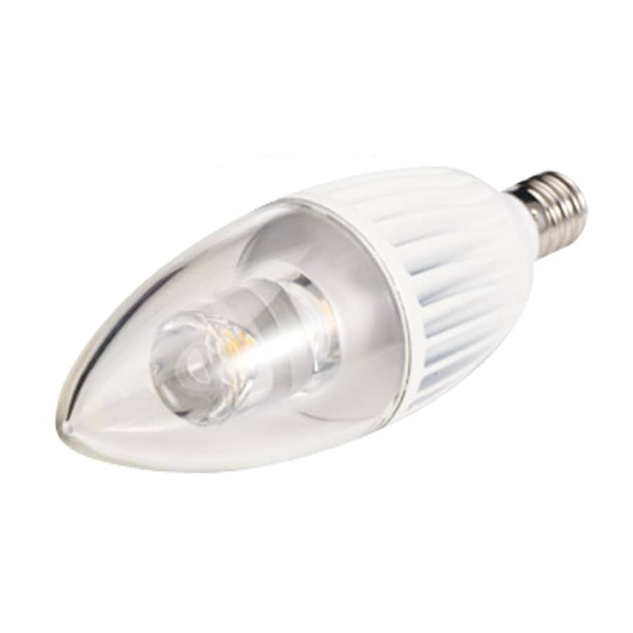 Sea Gull Lighting LED Lamp Dimmable Warm White B10 LED Light Fixture Light Bulb