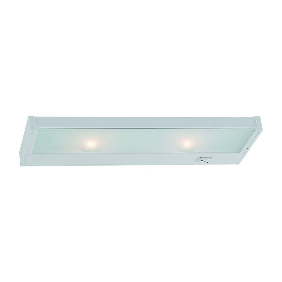 Sea Gull Lighting 14-in Hardwired/Plug-in Under Cabinet Incandescent Light Bar
