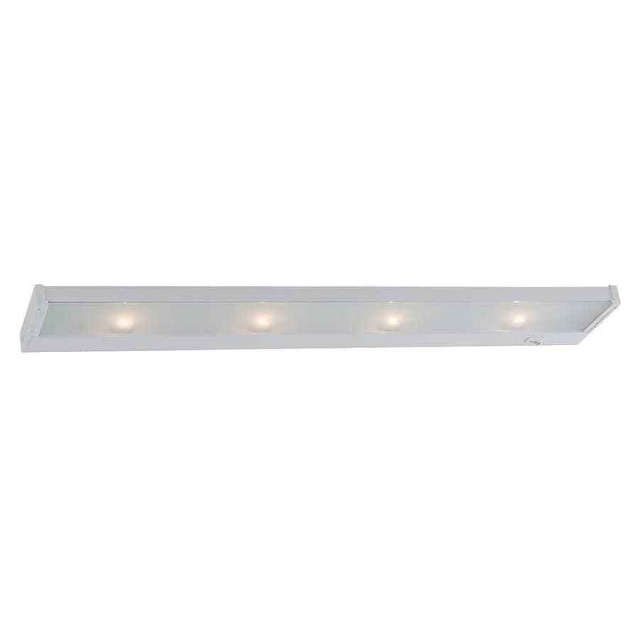 Sea Gull Lighting 26-in Hardwired/Plug-in Under Cabinet Incandescent Light Bar