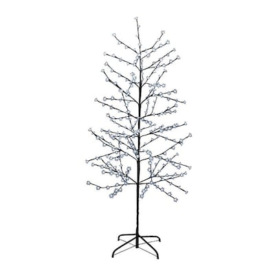 buy popular c3805 f8263 Christmas Central 6-ft Pre-Lit Twig Artificial Christmas ...