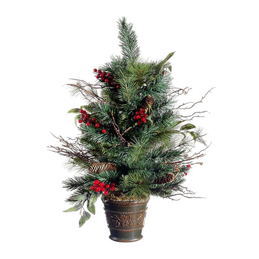 Northlight Allstate 2.16-ft Pine Artificial Christmas Tree