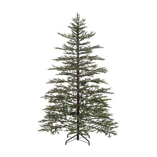 Christmas Central 7.5-ft Pre-Lit Norfolk Pine Artificial ...