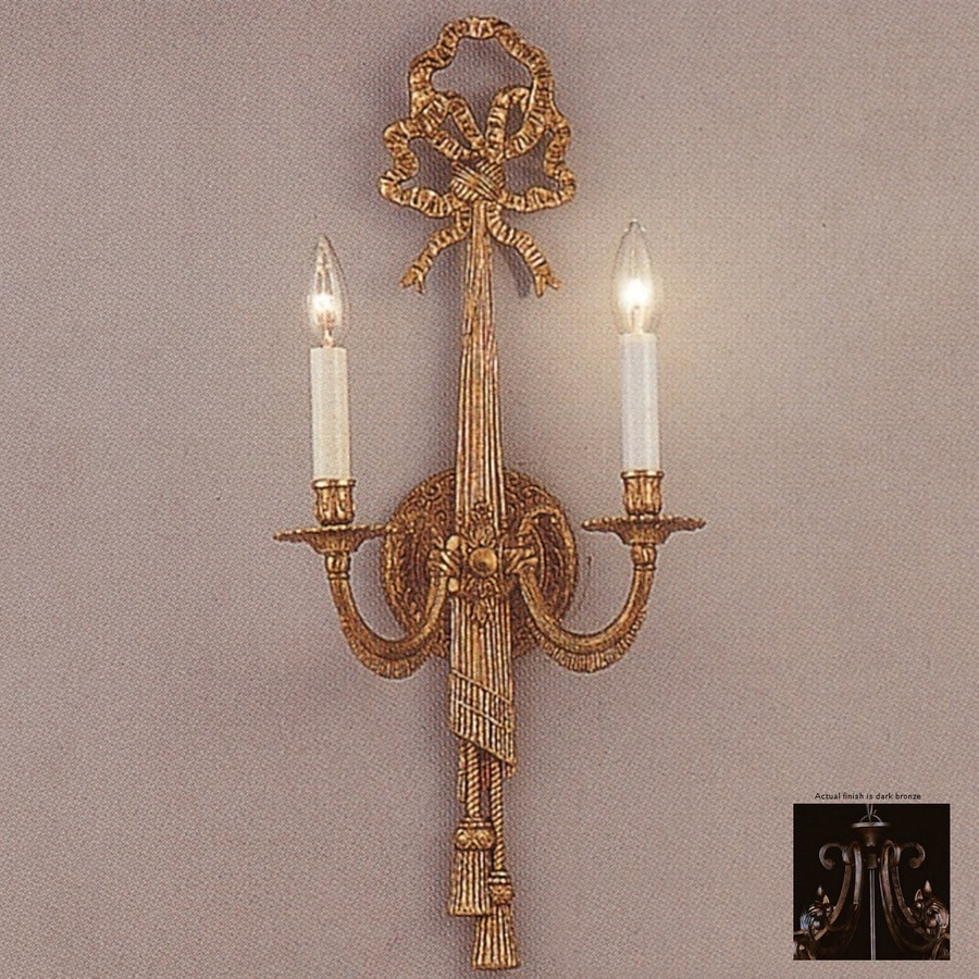 Shop Weinstock Illuminations 9 In W 2 Light Dark Bronze
