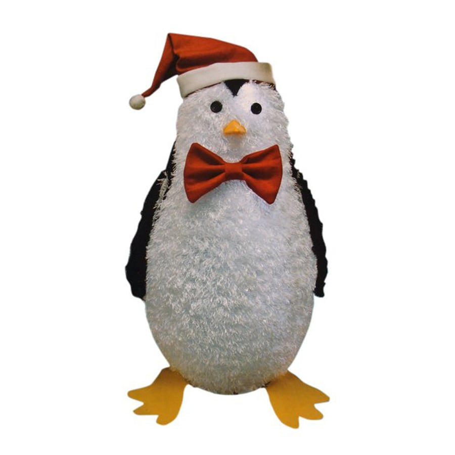 christmas central 1 piece 3 ft penguin outdoor christmas decoration