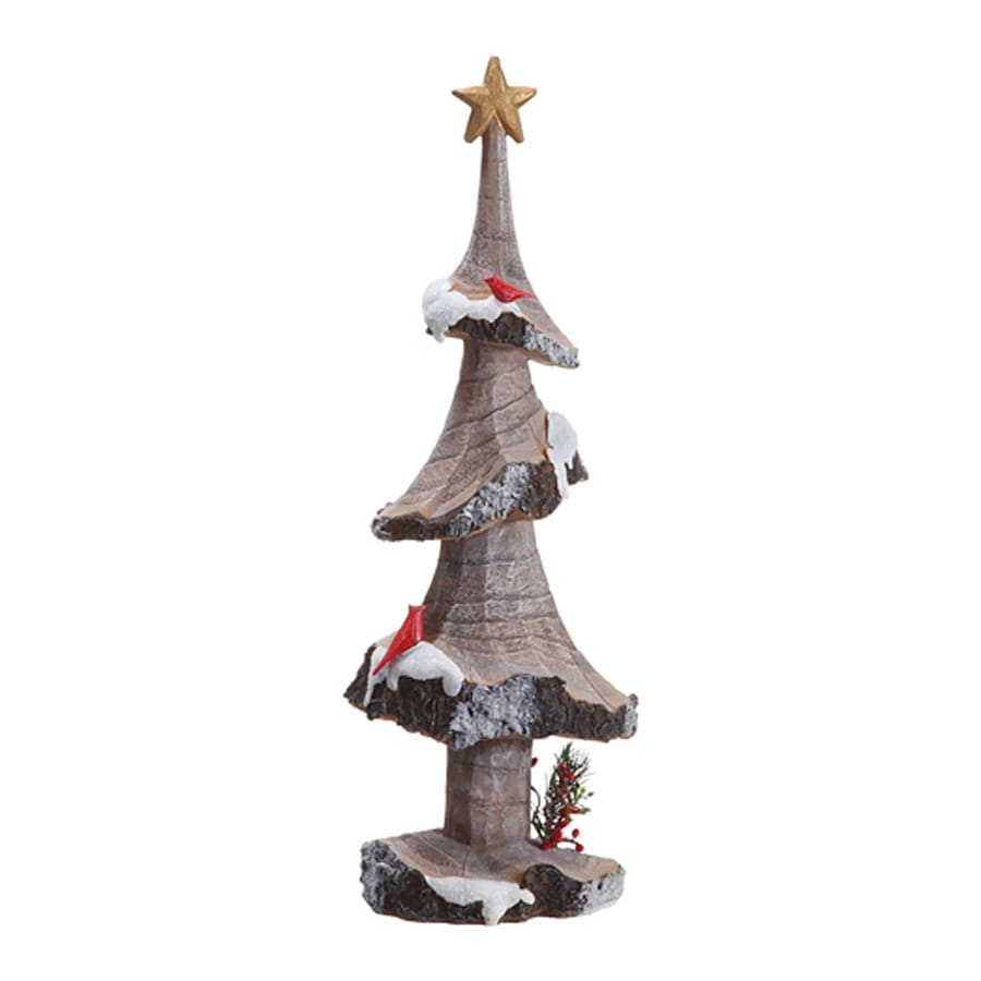 Northlight Allstate Winter Scene Christmas Tree