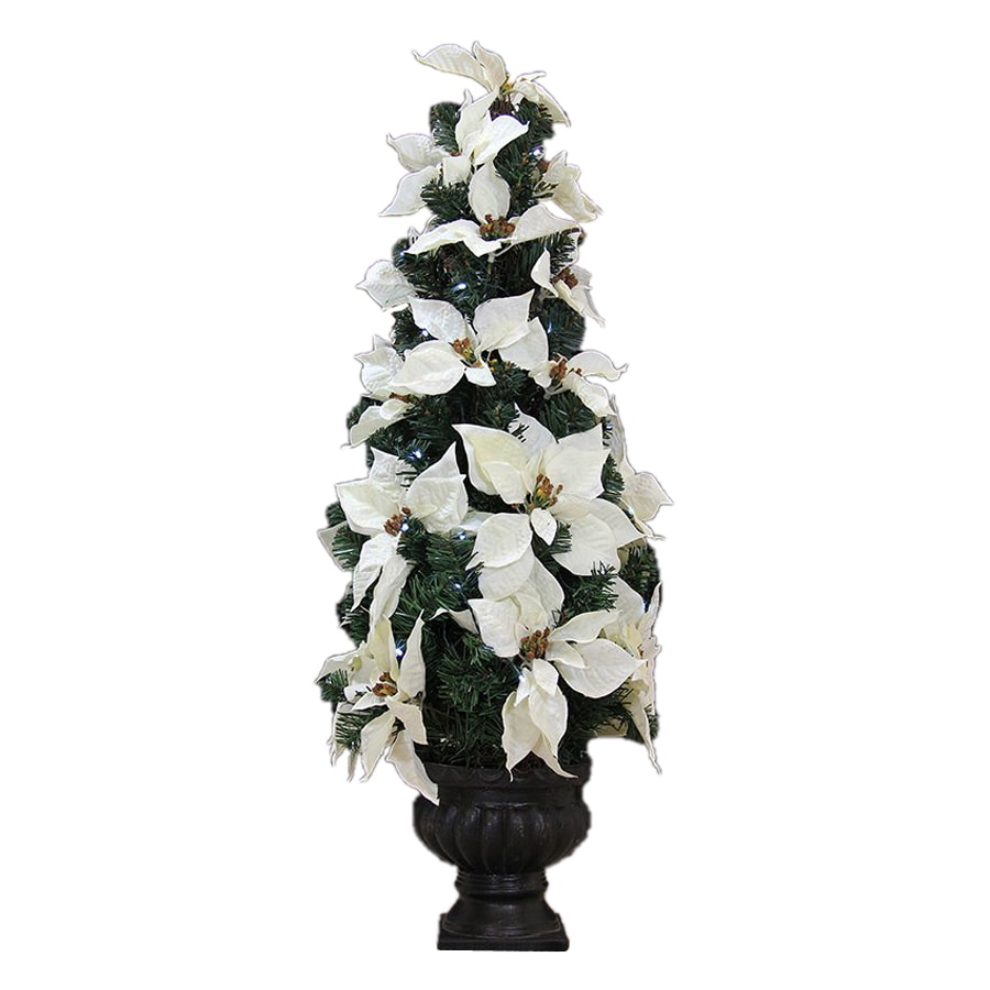 Northlight Allstate-ft Pre-lit Slim Artificial Christmas Tree with 50 Constant White LED Lights