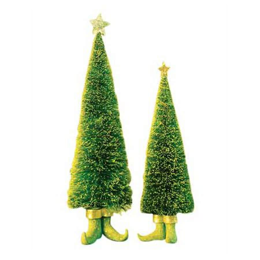 Shop Northlight 2-Piece Tabletop Christmas Tree Indoor Christmas ...