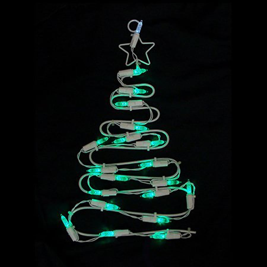 christmas central lighted hanging tree indoor christmas decoration