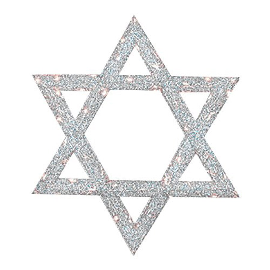christmas central metal lighted star of david outdoor decoration hanging hanukkah decoration