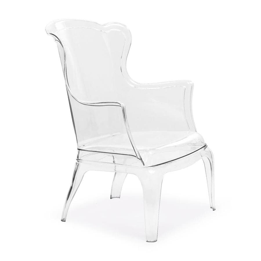 Zuo Modern Vision Modern Clear Accent Chair