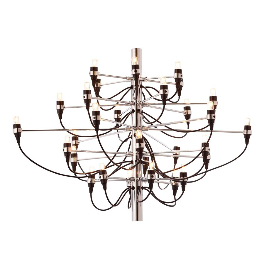 Zuo Modern Bradyon 34.65-in 30-Light Chrome Abstract Chandelier