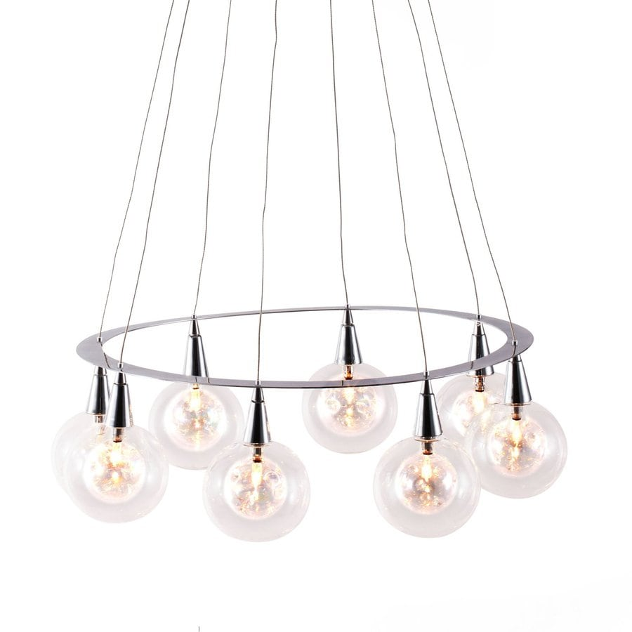 Shop zuo modern radial 209 in 8 light chrome clear glass chandelier zuo modern radial 209 in 8 light chrome clear glass chandelier aloadofball Gallery