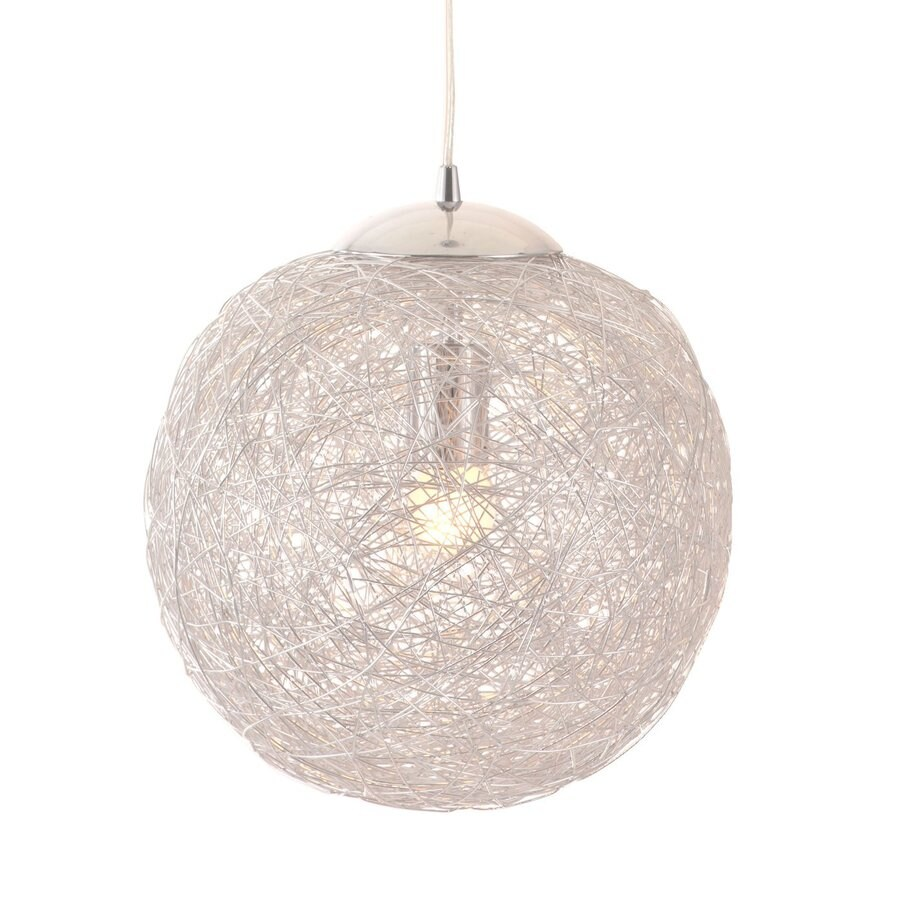 Zuo Modern Opulence 11.8-in Aluminum Single Globe Pendant
