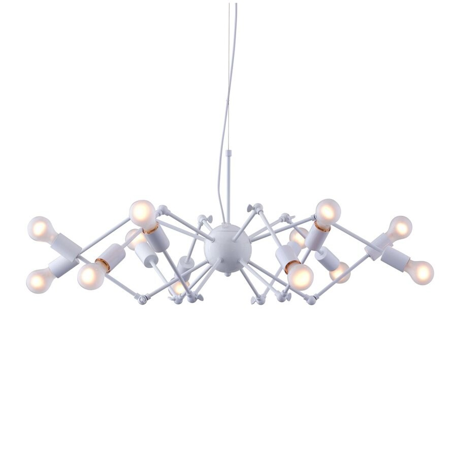 Zuo Modern 36.6-in 12-Light White Abstract Chandelier