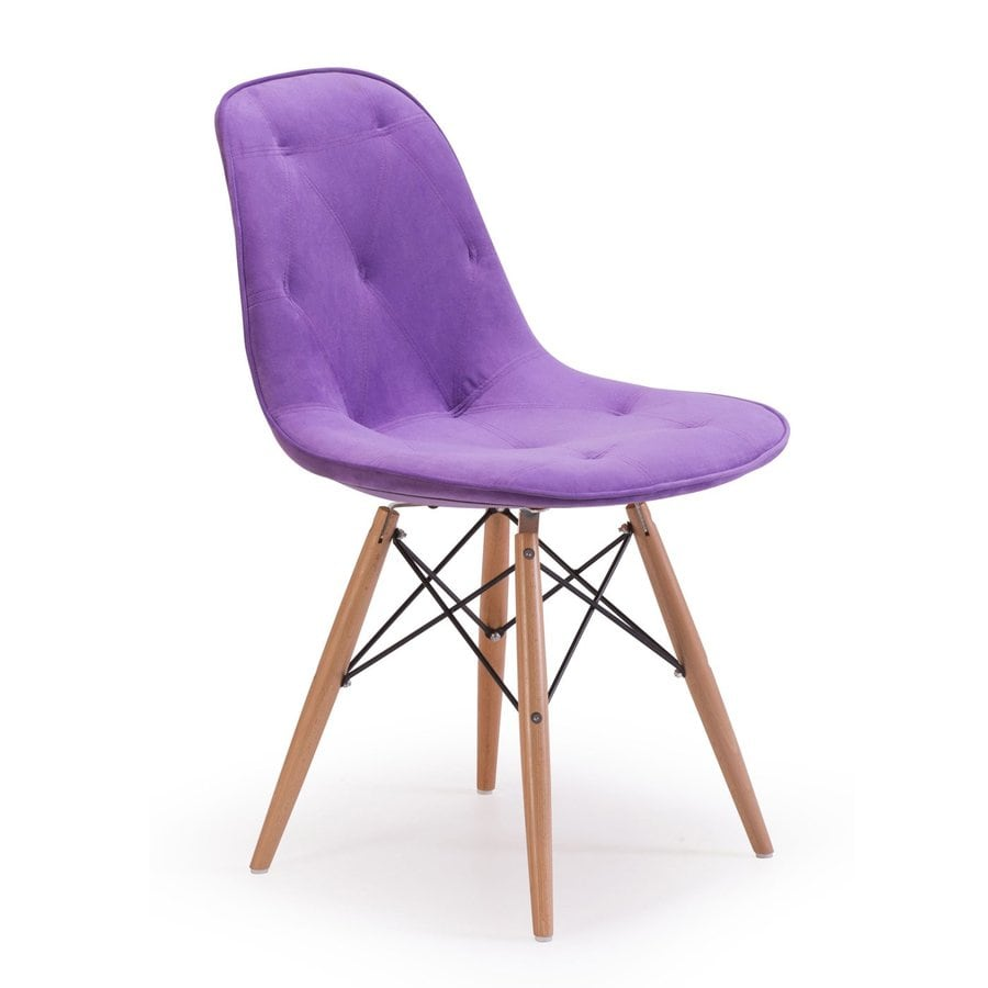 Zuo Modern Probability Purple Side Chair