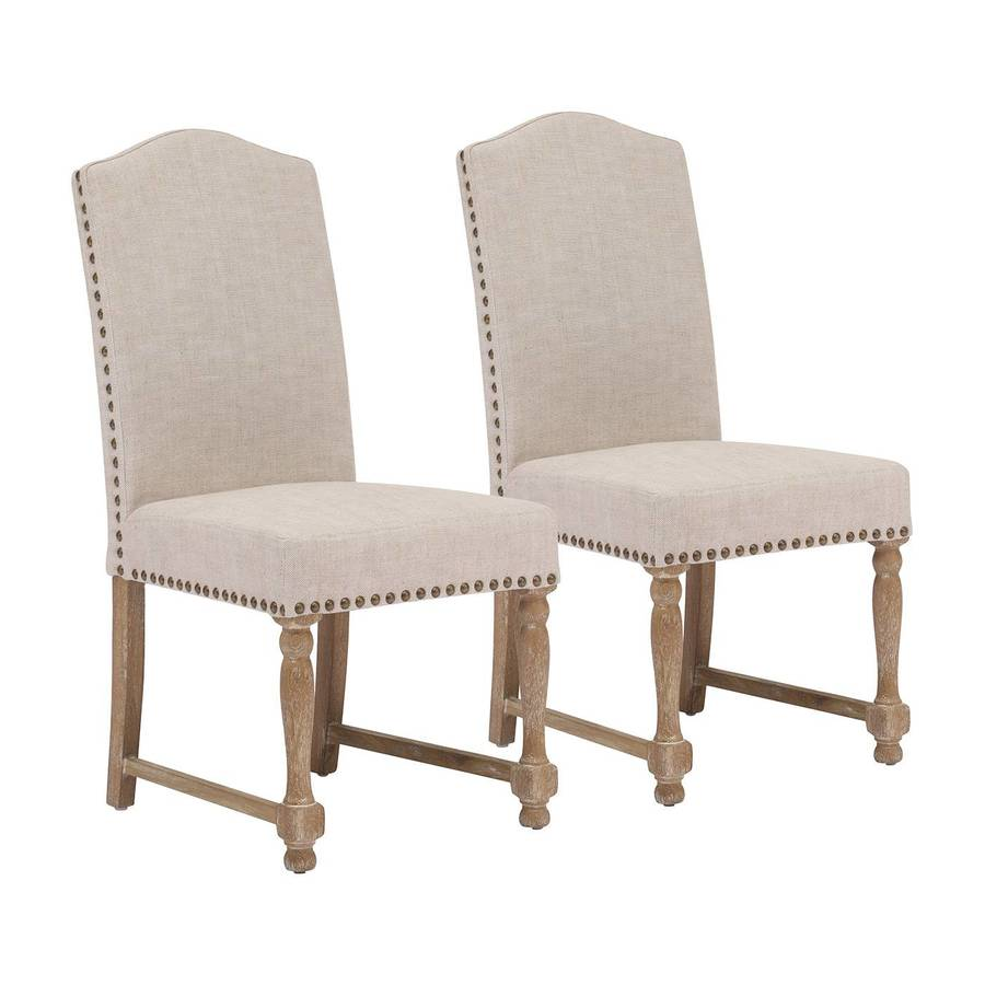 Zuo Modern Set of 2 Richmond Traditional Side Chairs