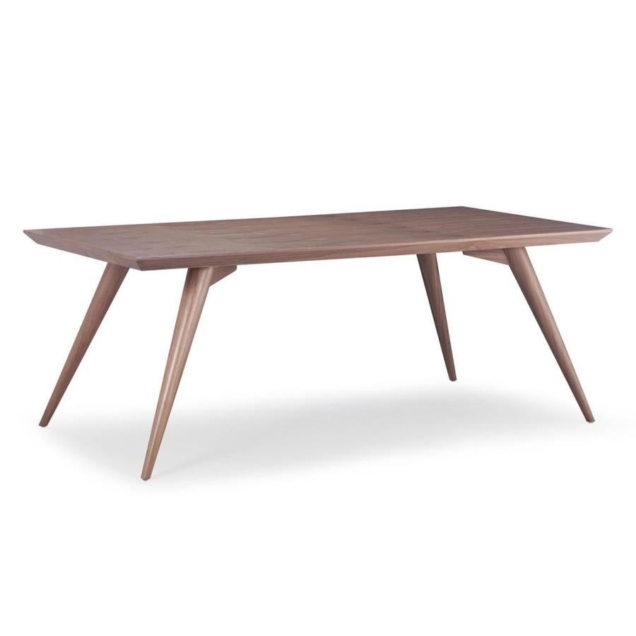 Shop Zuo Modern Stockholm Walnut Rectangular Dining Table At