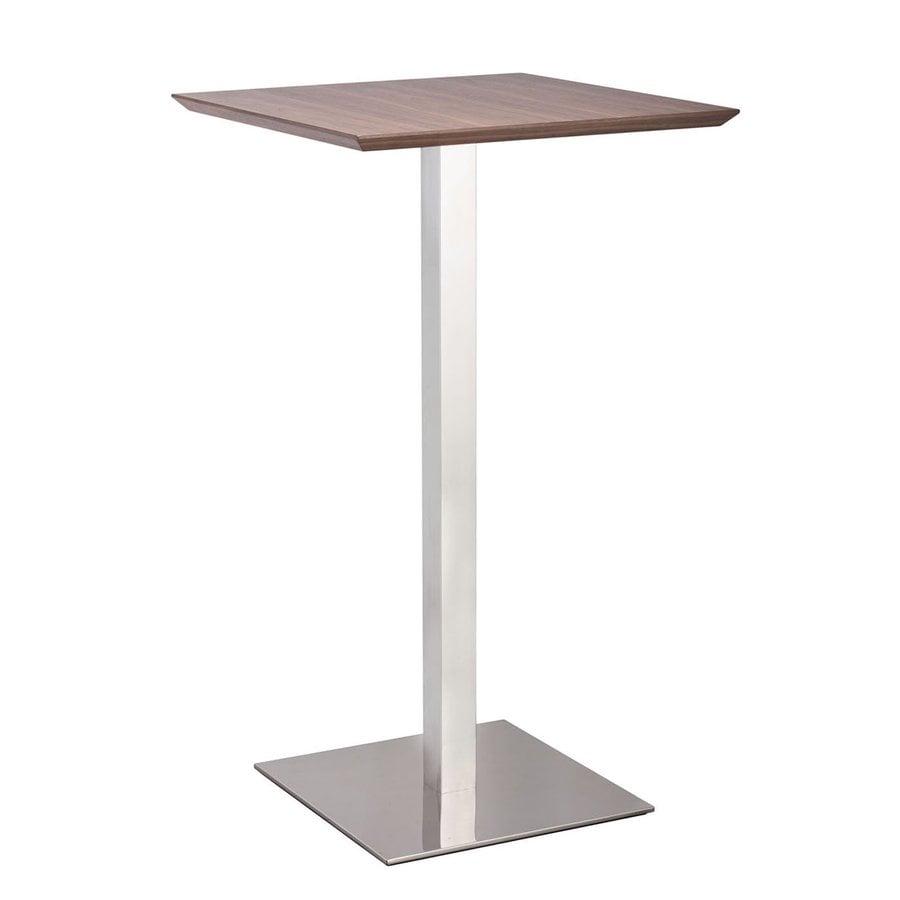 Zuo Modern Malmo Walnut Square Bistro Table