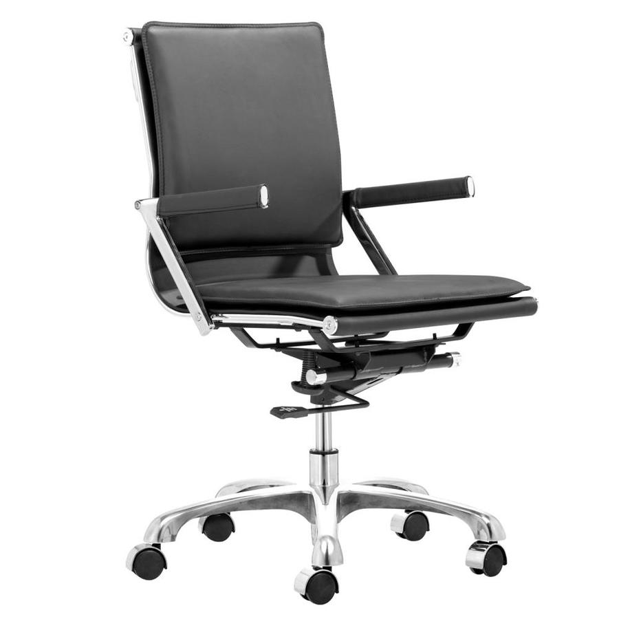 Zuo Modern Lider Plus Black Contemporary Task Chair