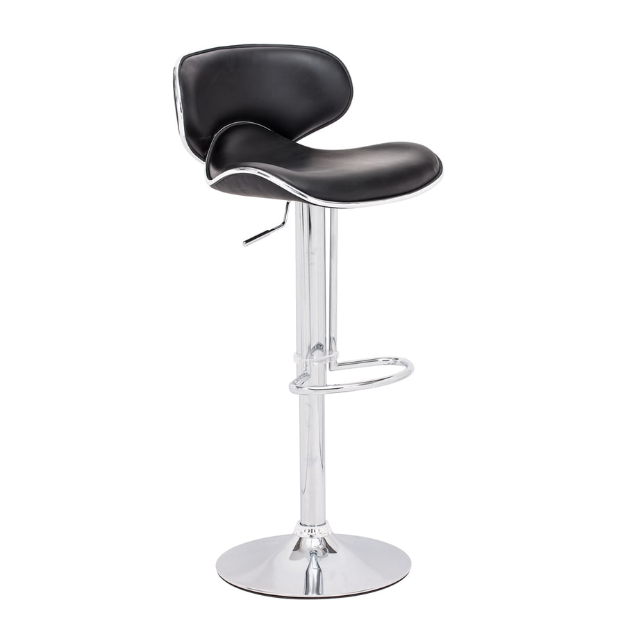 Zuo Modern Fly Modern Black Adjustable Stool
