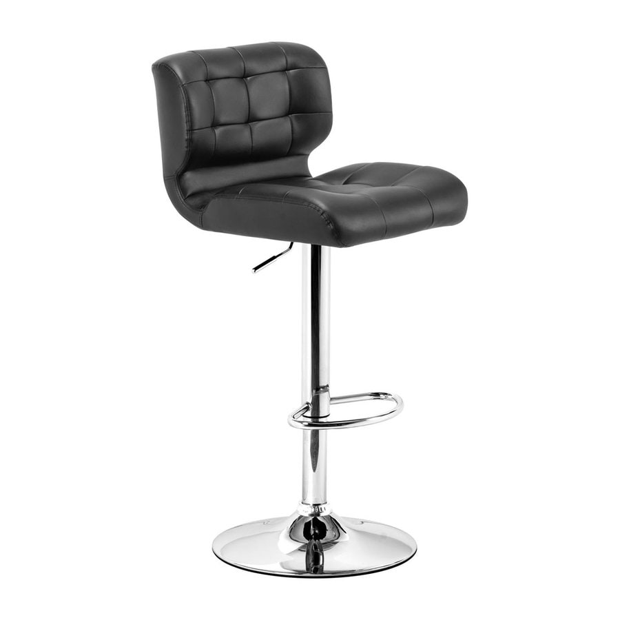 Zuo Modern Formula Black 34.3-in Adjustable Stool