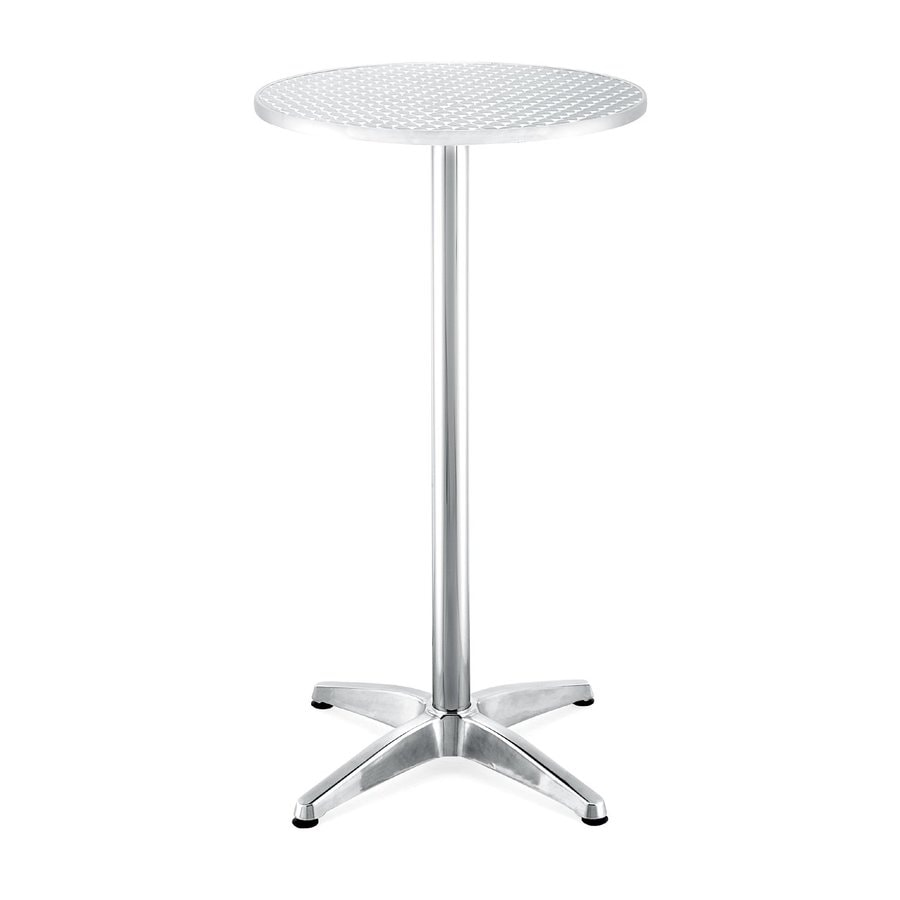 Zuo Modern Christabel 23.5-in W x 23.5-in L Round Aluminum Bistro Table