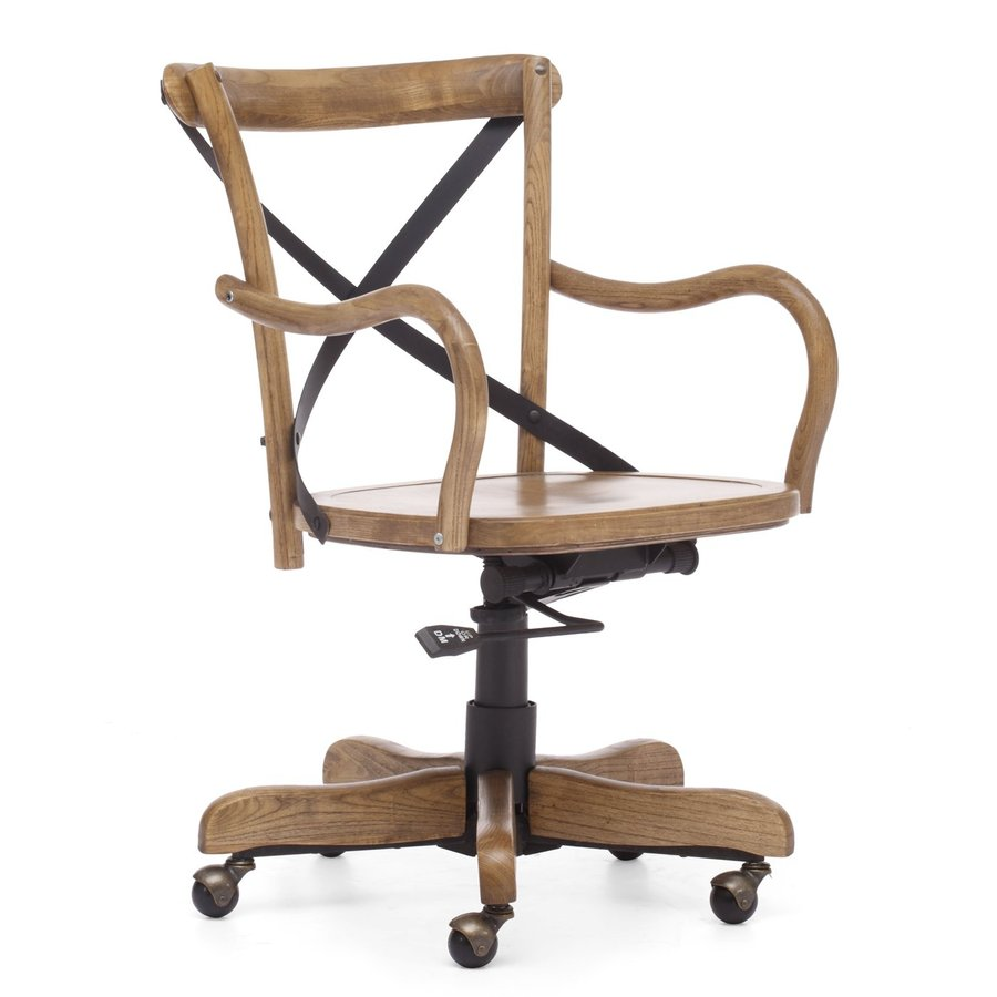 Zuo Modern Union Square Antique Natural Task Office Chair