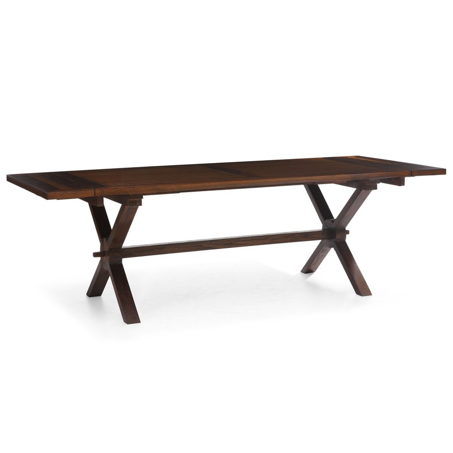 Zuo Modern Laurel Heights Distressed Natural Rectangular Dining Table
