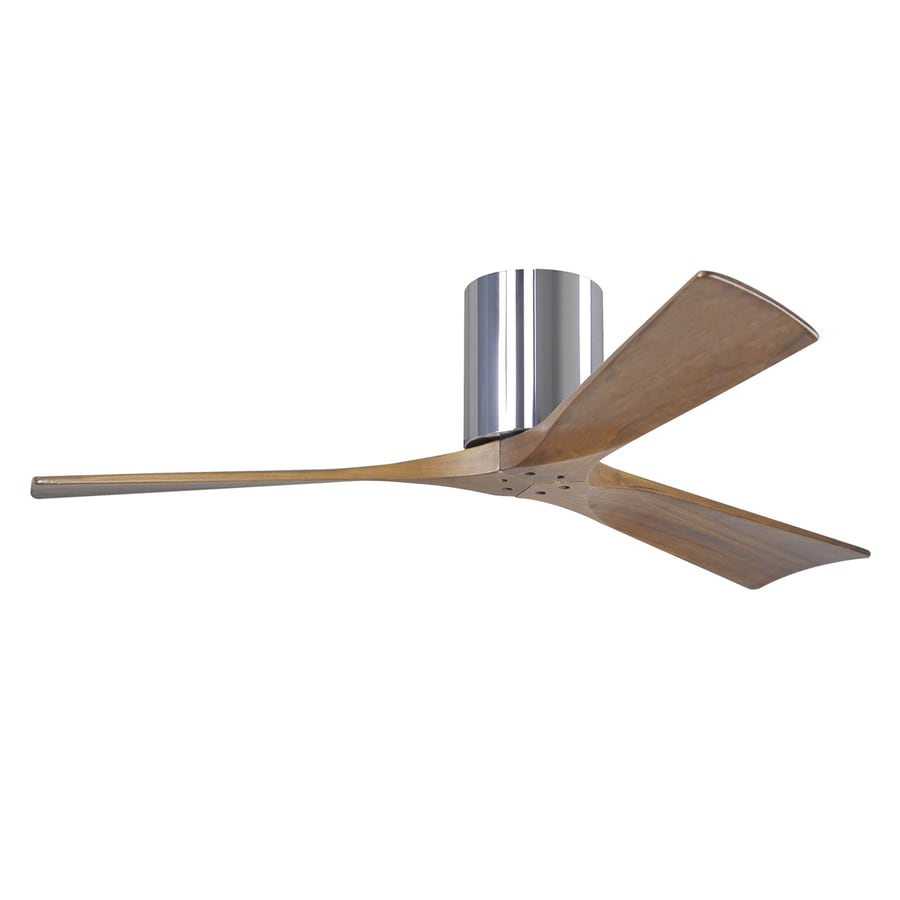 Ceiling Fans Mount: Matthews Irene 52-in Chrome Indoor/Outdoor Flush Mount