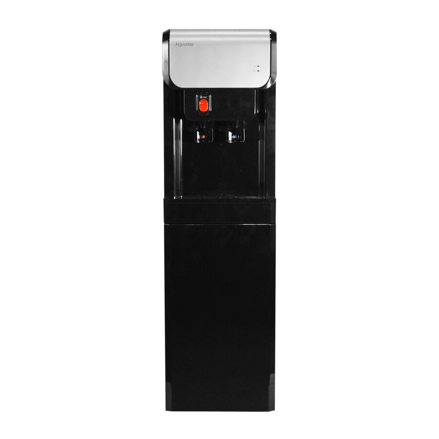 Aquverse Black Fountain Cold and Hot Water Cooler