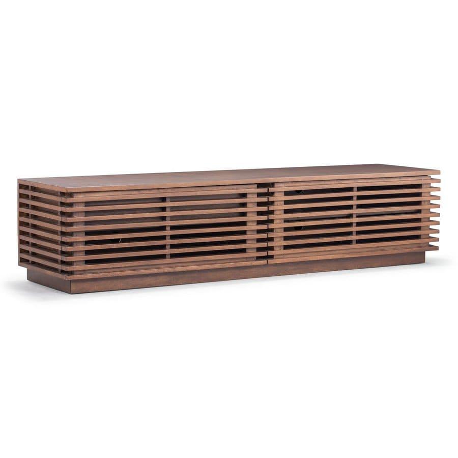 Zuo Modern Linea Walnut TV Cabinet