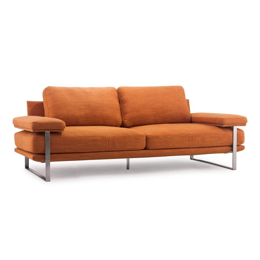 Zuo Modern Jonkoping Sunkist Synthetic Stationary Sofa