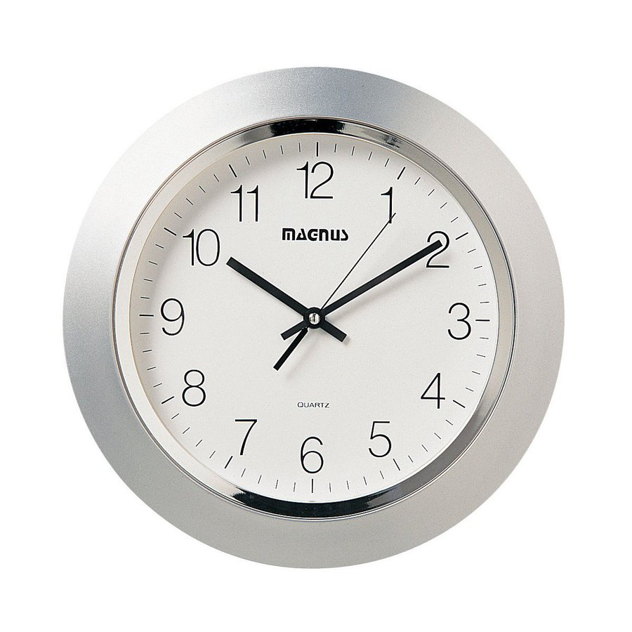 Dainolite Lighting Magnus Analog Round Indoor Wall Clock