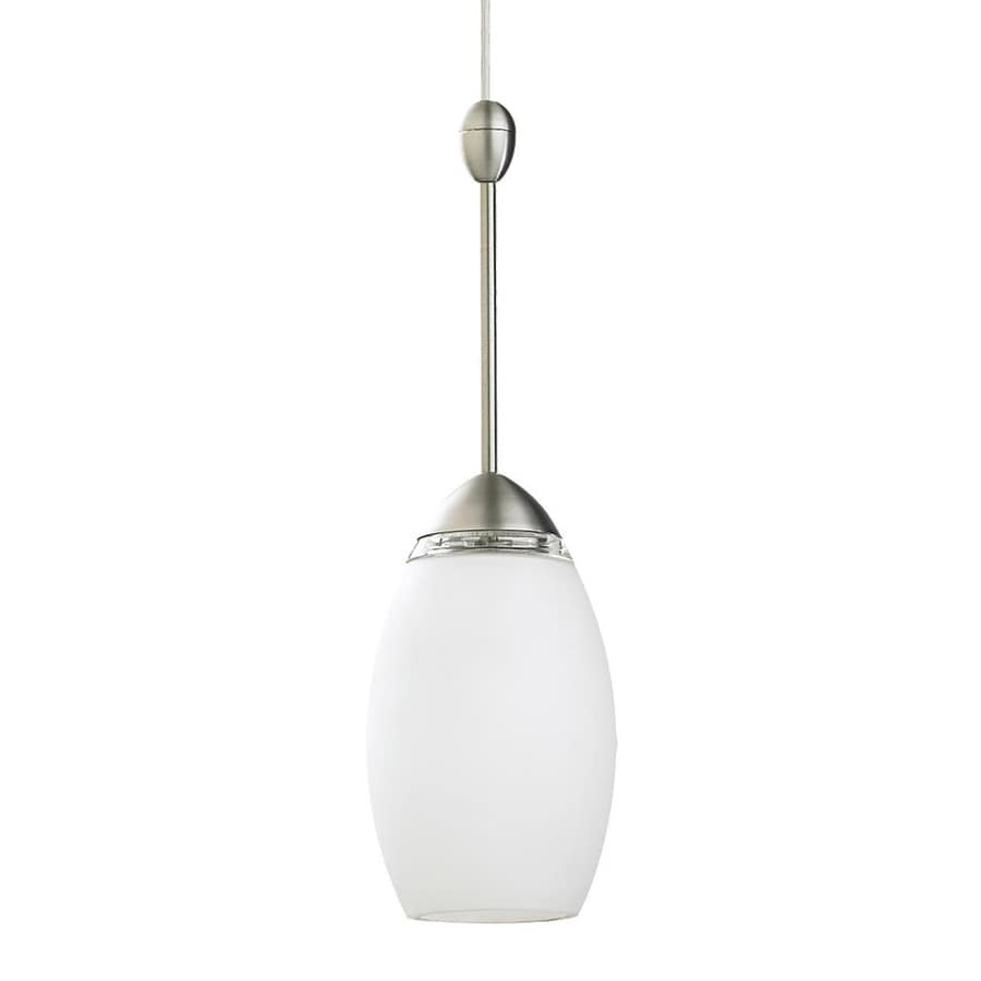 Ambiance by Sea Gull Urban Loft 4.37-in Antique Brushed Nickel Industrial Mini Teardrop Pendant